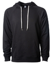 Independent SS1000 Unisex Lightweight Loopback Terry Hooded Pullover
