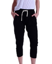 US Blanks US204 Women's Ribbed Capri Sweatpant