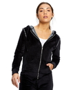 US Blanks US0565 Women's Plush Velour Zip Hoody