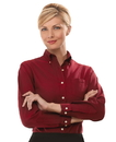 Van Heusen V0002 Ladies' Long Sleeve Oxford