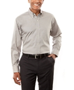 Van Heusen V0067 Men's Long Sleeve Pinpoint