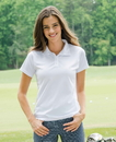 Whispering Pines 2801 Willow Pointe Ladies' Performance Textured Sport Shirt