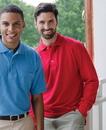 Whispering Pines 7015 Inner Harbor Adult Mainsail Long Sleeve Pique Sport Shirt