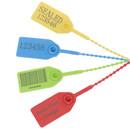 Muka Custom Laser Engraved Plastic Security Seal, Printed Tight Self Locking Zip Ties, 9.84
