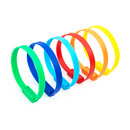 Muka 100PCS Plastic Truck Seals, Colorful Self-Locking Zip Ties Straps for Wire Management, 8 Inch