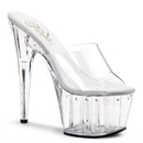 "Pleaser ADORE-701LS Platforms (Exotic Dancing) : 7"" - 7 1/2"" Heel, 7"
