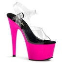 Pleaser ADORE-708UV Platforms (Exotic Dancing) : Specialty Collection, 7