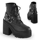 Demonia ASSAULT-101 Women's Ankle Boots, 4 3/4