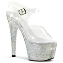 Pleaser BEJEWELED-708DM Platforms (Exotic Dancing) : Specialty Collection, 7