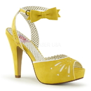 "Pin Up Couture BETTIE-01 Platforms : 4 1/2"" Bettie, 4 1/2"