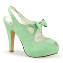 "Pin Up Couture BETTIE-03 Platforms : 4 1/2"" Bettie, 4 1/2"