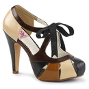 "Pin Up Couture BETTIE-19 Platforms : 4 1/2"" Bettie, 4 1/2"