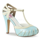 "Pin Up Couture BETTIE-25 Platforms : 4 1/2"" Bettie, 4 1/2"