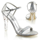 """Fabulicious CLEARLY-425 Shoes : 4 1/2"""" Clearly, 4 1/2"""