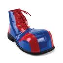 Funtasma CLOWN-05 - Adult Red-Blue Pat Bump Toe Clown Shoe