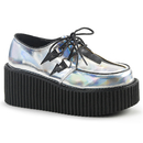 Demonia CREEPER-218 Women's Creepers : Vegan, 3
