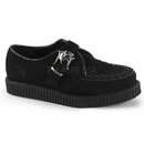Demonia CREEPER-605 Unisex Creepers : Leather, 1