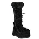 Demonia CUBBY-311 Women's Mid-Calf & Knee High Boots, 2 3/4