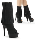 Pleaser DELIGHT-1057 Platforms (Exotic Dancing) : Ankle/Mid-Calf Boots, 6