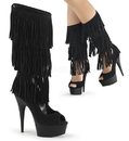 Pleaser DELIGHT-1065 Platforms (Exotic Dancing) : Ankle/Mid-Calf Boots, 6