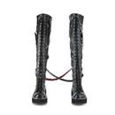 Demonia : Women's Over-the-Knee Boots-D2EMI377/BVL