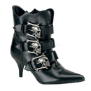 Demonia FURY-06 Women's Ankle Boots, 2 3/4
