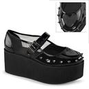 Demonia GRIP-01 Women's Heels & Platform Shoes, 2 3/4