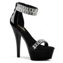 "Pleaser KISS-269RS Platforms (Exotic Dancing) : 6"" - 6 1/2"" Heel, 6"