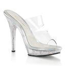 "Fabulicious LIP-102MG Shoes : 5"" Lip, 5"