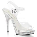 "Fabulicious LIP-108MG Shoes : 5"" Lip, 5"