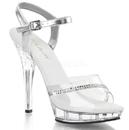 "Fabulicious LIP-108R Shoes : 5"" Lip, 5"