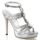 "Fabulicious LUMINA-22 Shoes : 4 3/4"" Lumina, 4 3/4"