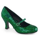 Funtasma MERMAID-70 Women's Shoes Heel Round Toe Maryjane Pump W/ Mermaid Scale Upper Design 3