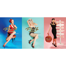 Accessories POSTER-PINUP Accessories, 1 SET 3 Pin-Up Couture Posters