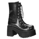 Demonia RANGER-301 Women's Mid-Calf & Knee High Boots, 3 3/4
