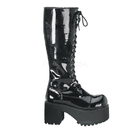 Demonia RANGER-302 Unisex Platform Shoes & Boots, 3 3/4