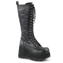 Demonia SCENE-107 Women's Mid-Calf & Knee High Boots, 3 1/2