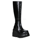 Demonia SHAKER-100 Women's Mid-Calf & Knee High Boots, 4 1/2