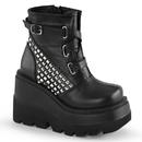 Demonia SHAKER-50 Women's Ankle Boots, 4 1/2