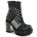 Demonia SINISTER-64 Women's Ankle Boots, 3 1/2