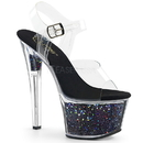 "Pleaser SKY-308GF Platforms (Exotic Dancing) : 7"" - 7 1/2"" Heel, 7"
