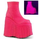 Demonia SLAY-205 Women's Ankle Boots, 7