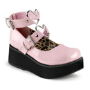 Demonia SPRITE-02 Women's Heels & Platform Shoes, 2 1/4