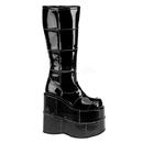 Demonia STACK-301 Unisex Platform Shoes & Boots, 7