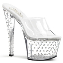 Pleaser STARDUST-701 Platforms (Exotic Dancing) : Specialty Collection, 7