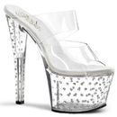 Pleaser STARDUST-702 Platforms (Exotic Dancing) : Specialty Collection, 7