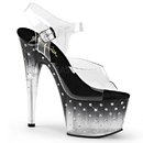Pleaser STARDUST-708T Platforms (Exotic Dancing) : Specialty Collection, 7