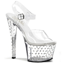 Pleaser STARDUST-708 Platforms (Exotic Dancing) : Specialty Collection, 7