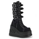 Demonia : Women's Mid-Calf & Knee High Boots-D2STO210/BCA