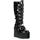 Demonia SWING-815 Women's Mid-Calf & Knee High Boots, 5 1/2